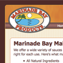 Marinade Bay Website